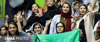 تصاویر) + مسابقه والیبال تیمهای ملی کشور عزیزمان ایران و آلمان (