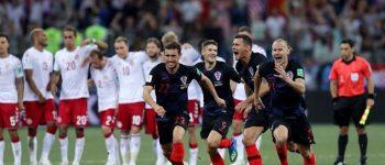 کرواسی در ضربات پنالتی دانمارک را شکست داد و افزایش کرد